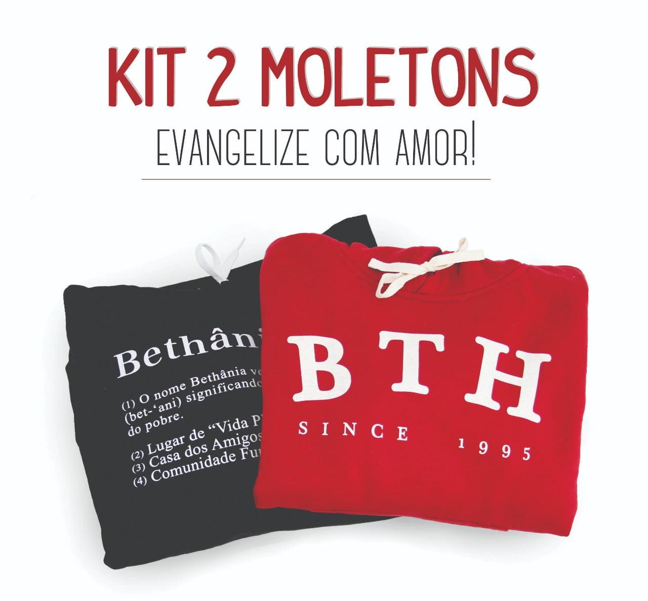 KIT COM 2 MOLETONS BETHÂNIA