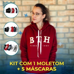 KIT'S 1 MOLETOM BTH + 5 M-Á-S-C-A-R-A-S