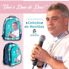 "Mochila ""Dom de Deus"" - Padre Leo"