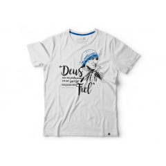 Camiseta Feminina Madre Teresa de Calcutá - Baby Look