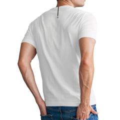 Camiseta Deus no Comando Branca