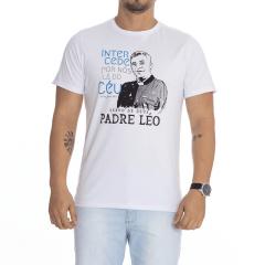 Camiseta Servo de Deus Padre Léo