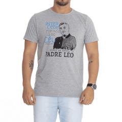 Camiseta Servo de Deus Padre Léo - Processo de Beatificação