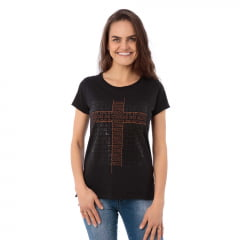 T Shirt feminina Buscai as Coisas do Alto