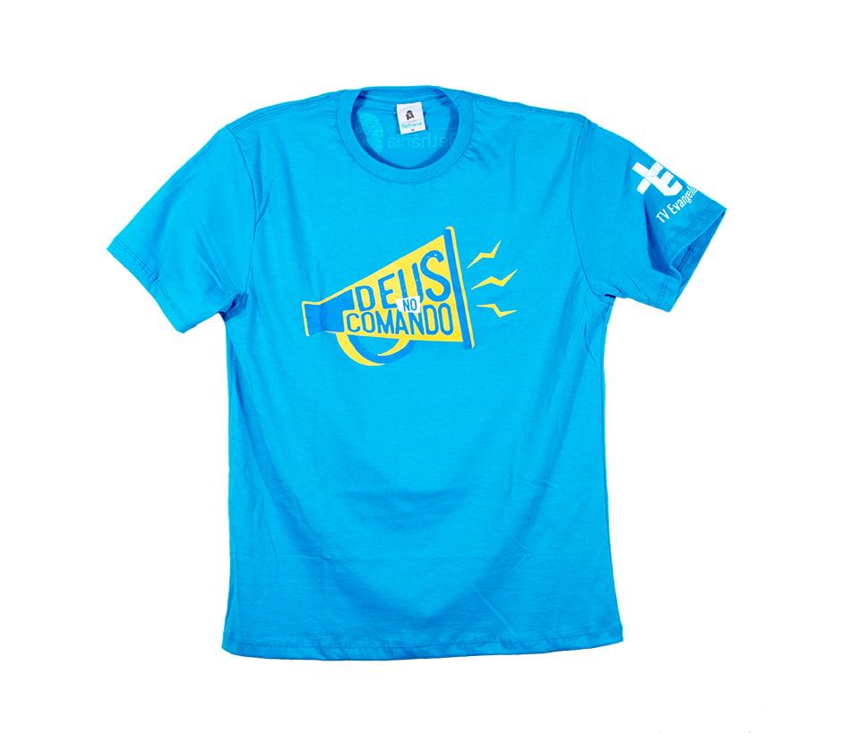 Camiseta Deus no Comando